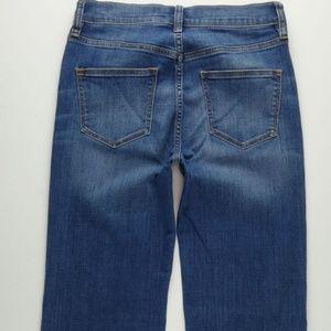 J.CREW Flare Jeans Women's 27 Stretch Blue B590